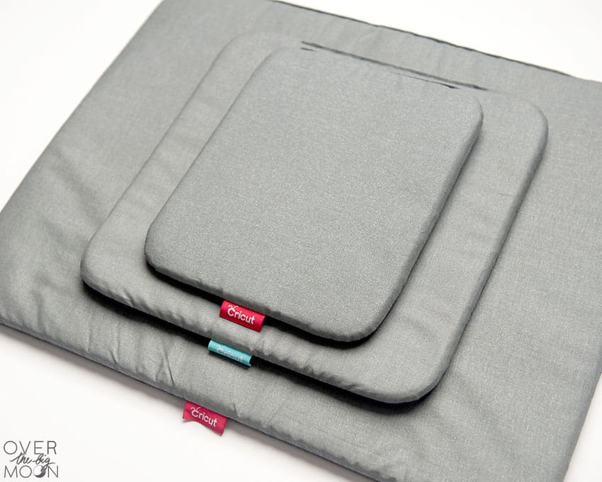 The three sizes of the EasyPress Mat that pair with the EasyPress 2's!