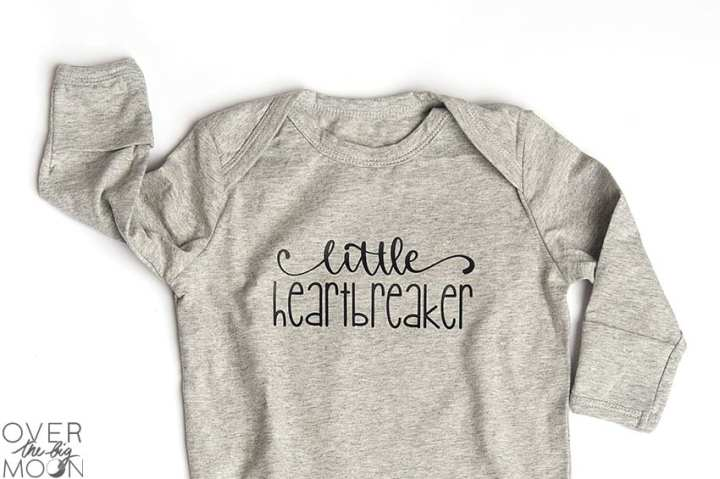 Little Hearbreaker Knot Nightgown Valentine's Day Pajamas! From overthebigmoon.com!