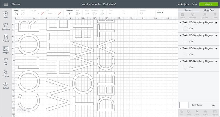 Laundry Sorter Design Space File