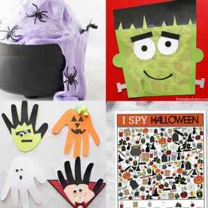 35+ Kids Halloween Crafts and Activities