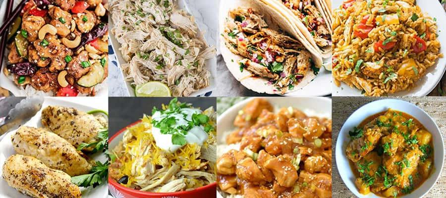 8 Easy Instant Pot Chicken Recipes