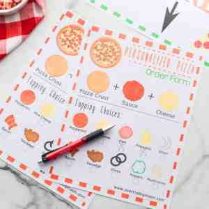 Pizza Order Form Free Printable
