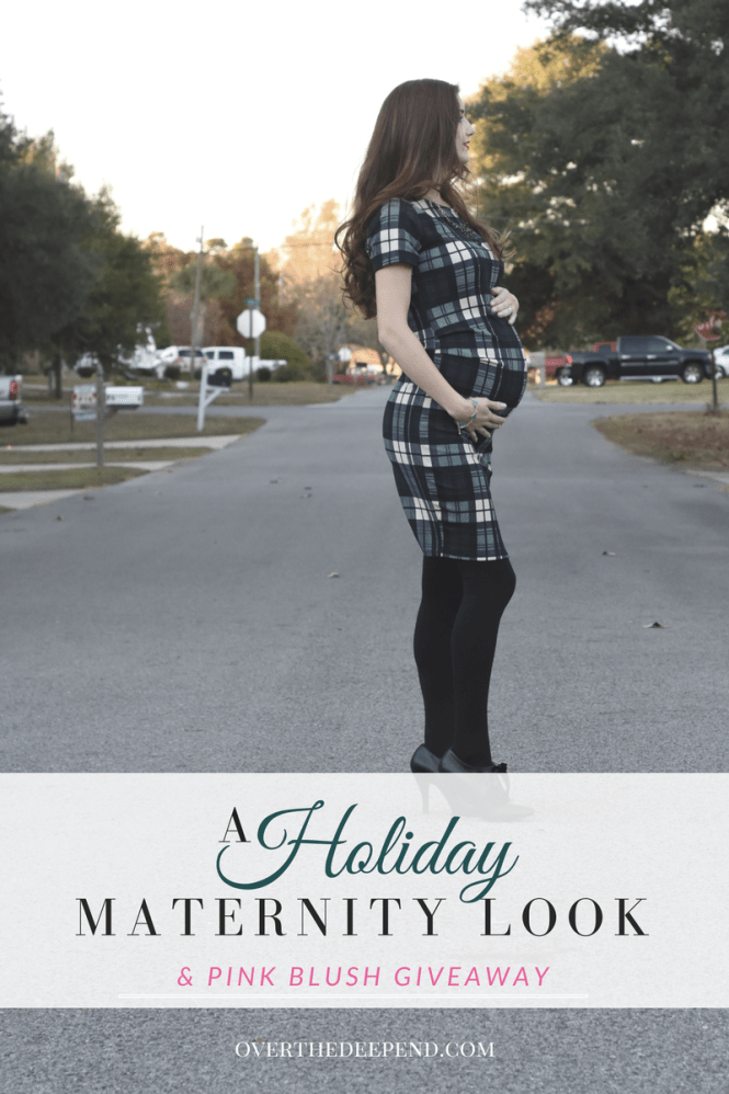 holiday-maternity-look-with-pink-blush-giveaway