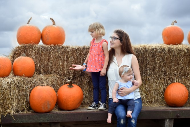 Pumpkin Patch with Toddler & Infant | what do you do at a pumpkin patch?