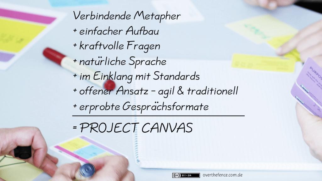 Project Canvas Eigenschaften