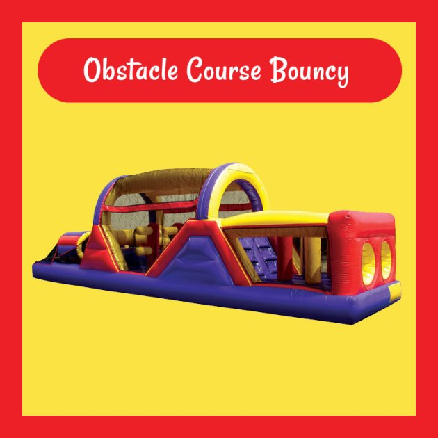 Obstacle Course Bouncy