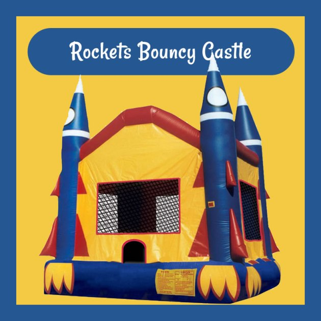 Rockets Bouncy Castle