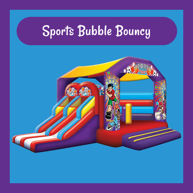 Sports Bubble Bouncer