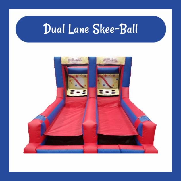 Dual Lane Skee-Ball