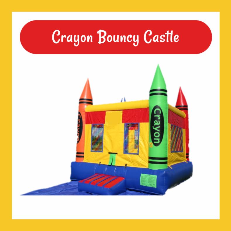 Crayon Bouncy Castle