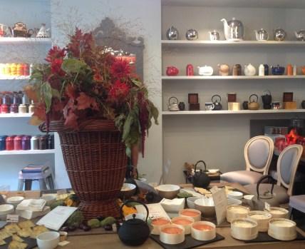 Dégustation d'accords thés & fromages au Bar à thé de Betjeman & Barton - ©Chloé Chateau