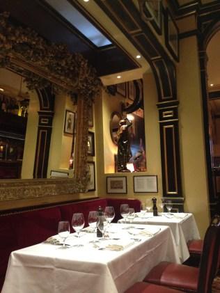 La décoration du Rules restaurant de Londres - ©Chloé Chateau