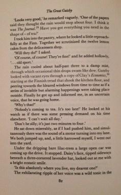 F. Scott Fitzgerald, The Great Gatsby, Chapter V - 4