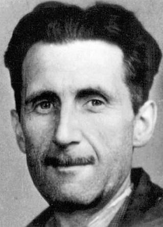 George Orwell press photo - DR