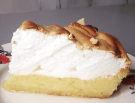 Lemon Meringue Pie at The Tearoom in Tours - ©Chloé Chateau