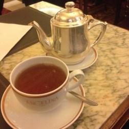 Darjeeling tea at Angelina, rue de Rivoli in Paris - ©Chloé Chateau