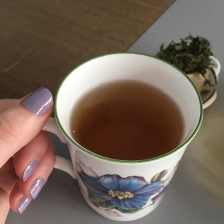 Ma tasse de thé vert Yun Wu de Dammann - ©Chloé Chateau