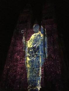 Photos : les illuminations de la cathédrale Saint-Gatien de Tours par Damien Fontaine - Saint Martin - ©Chloé Chateau