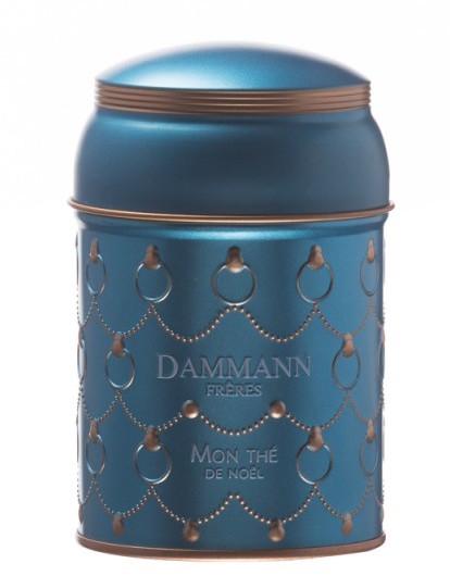 Dammann Frères, boîte à thé de Noël vide