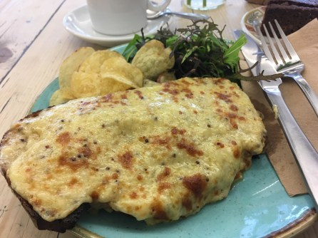 Manx Rarebit at Noa's Bakehouse in Douglas, Isle of Man