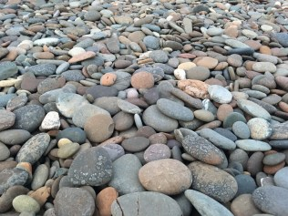 Pebble beach, Point of Ayre, Isle of Man