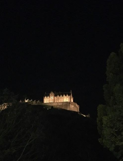 Photos d'Édimbourg la nuit - ©Chloé Chateau