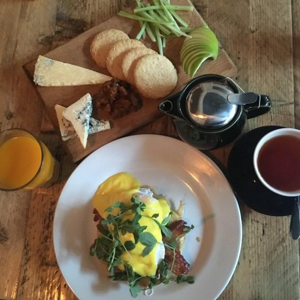 Breakfast at Checkpoint in Edinburg - ©Chloé Chateau