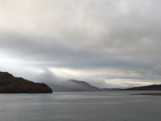 View from Eilean Donan Castle, Scotland