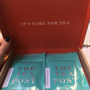 The Tea Post by Fortnum and Mason January 2017