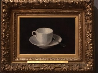 Fitzwilliam Museum in Cambridge - Henri Fantin-Latour, White cup and saucer, 1864