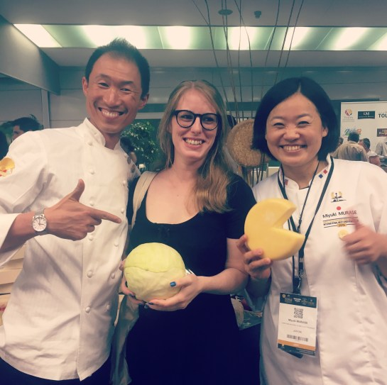 Mondial du fromage de Tours 2017 - soirée dégustation avec Miyuki Murase, gagnante du concours en 2013