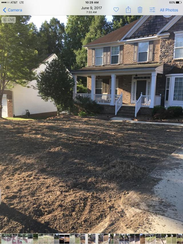 Before Sod Installation