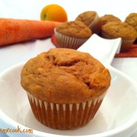 Healthy Orange Carrot Muffins