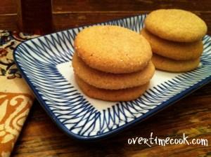(Not Your Bubby's) Honey Cookies