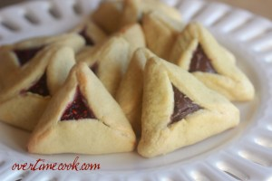 Traditional Hamantashen