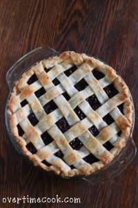 Homemade Cherry Pie and a Lattice Crust Tutorial