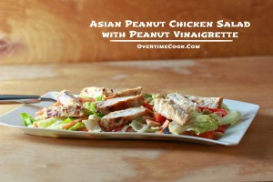 Asian Chicken Salad with Peanut Vinaigrette
