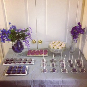 Purple and Silver Themed Party {Purim 2013}
