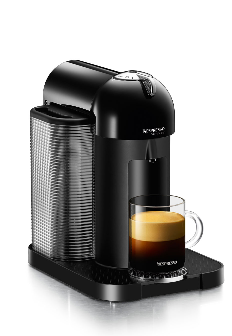 Nespresso. Start your morning with a great cup of coffee at the touch of a button with a nespresso maker. In about seconds, a yummy cup of coffee, espresso or flavored drink can ready to drink from certain brands.