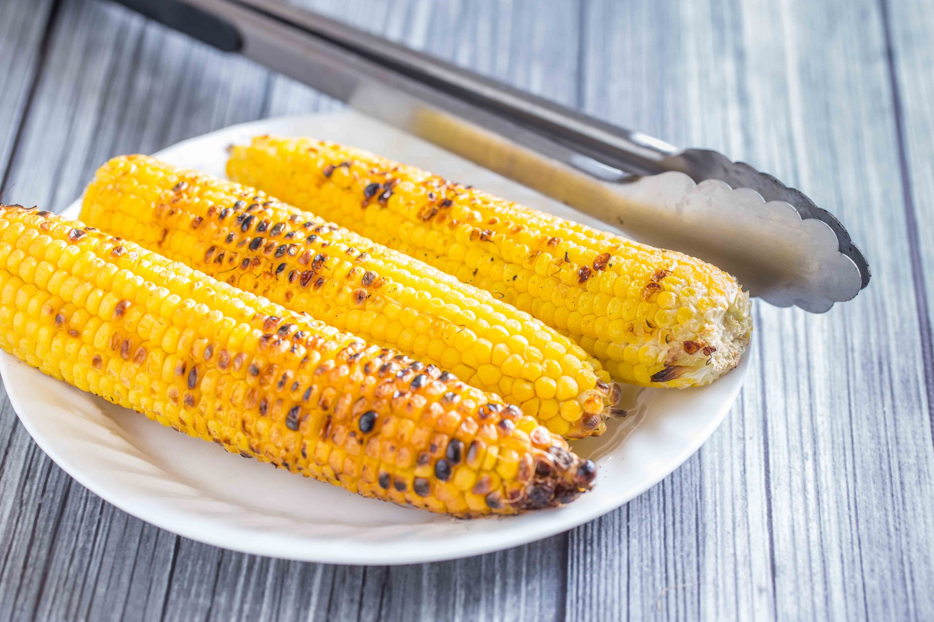Grilled Corn and Pastrami SaladOvertime Cook