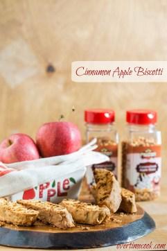 Cinnamon Apple Biscotti on OvertimeCook.com