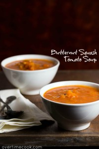 Butternut Squash Tomato Soup