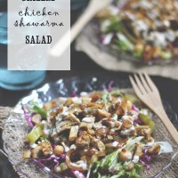 Grilled Chicken Shawarma Salad