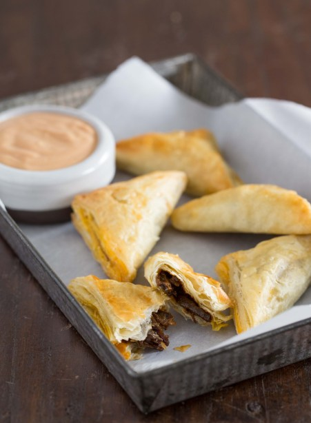 pulled bbq beef pockets