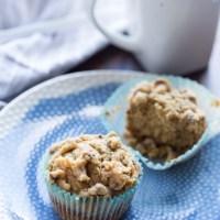 Peanut Butter Crumb Muffins