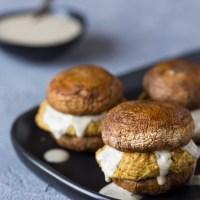 Baked Falafel Sliders