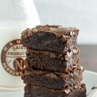 Best Ever No-Mixer Brownies for Passover