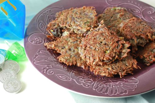 Purple Potato Latkes 3