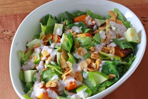 butternut squash salad 3