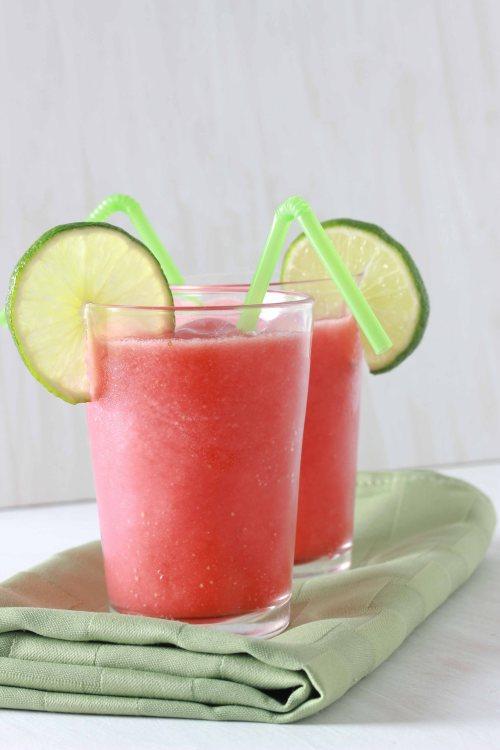strawberry limeade slushies 2